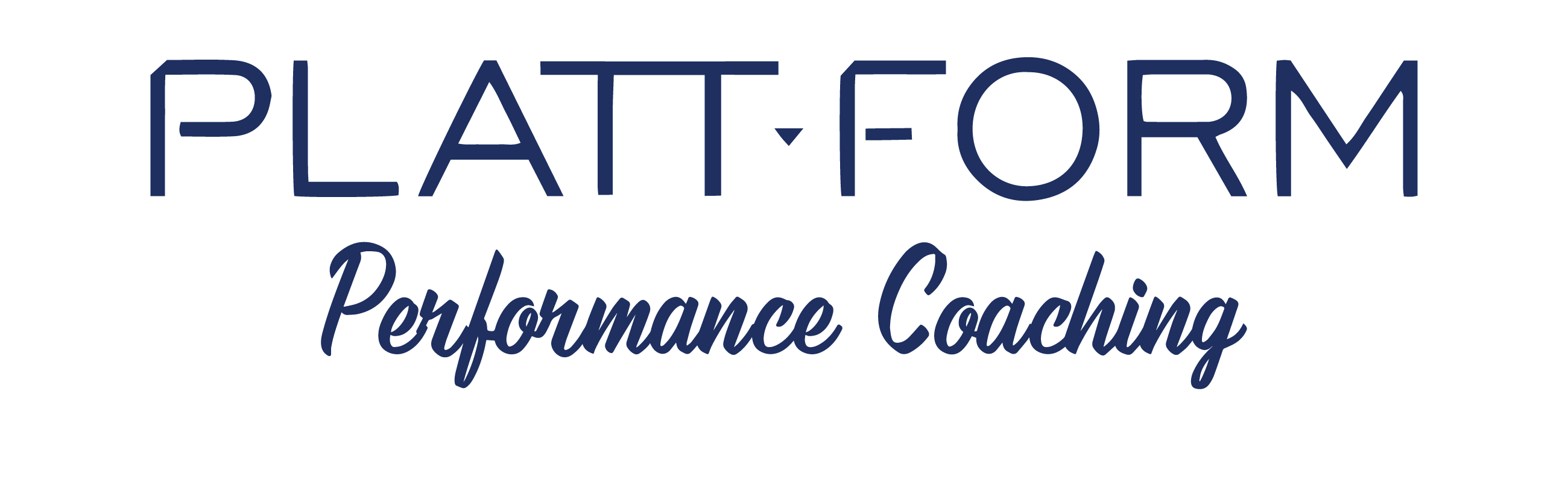 Plattform Performance Coaching - Logo