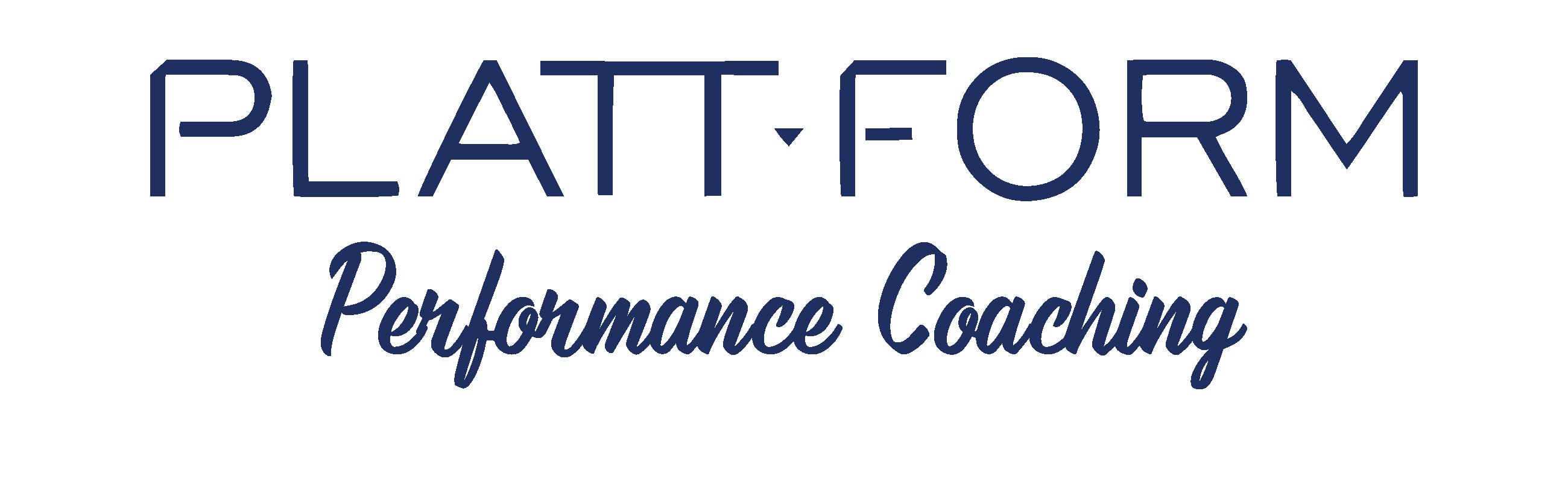 Plattform Performance Coaching - Logo